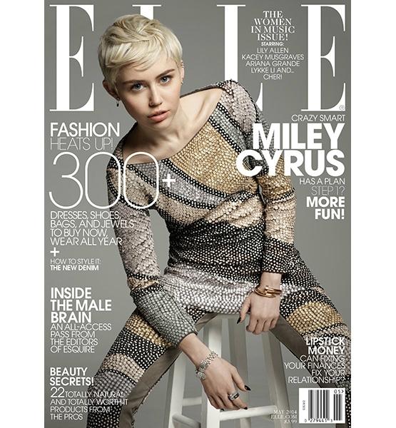 Miley Cyrus x Elle