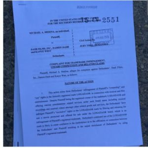 Court papers for Michael A. Medina vs.Dame Dash